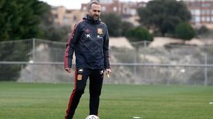 Pedro López, seleccionador español de la Sub'19 y Sub'20...