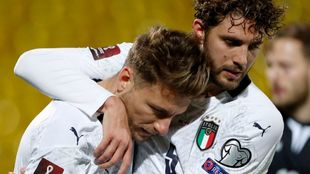 Immobile y Locatelli, tras el 0-2.