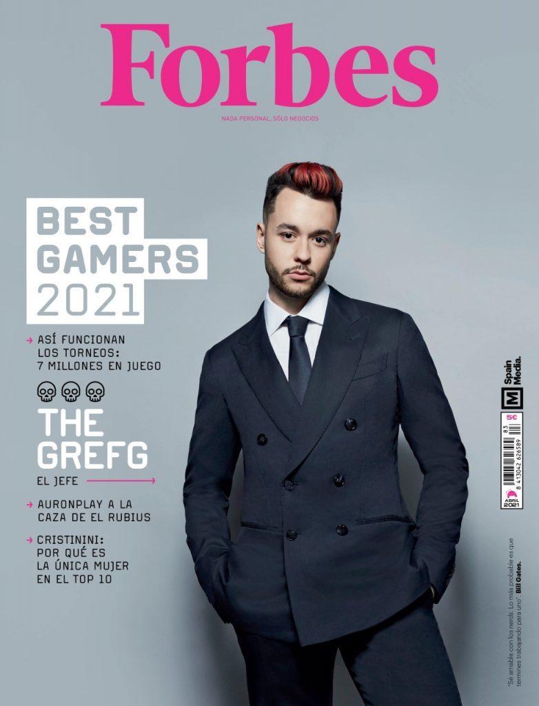 La portada de la revista Forbes