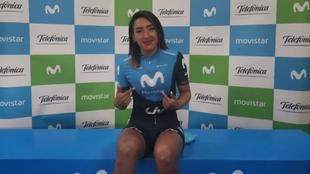 Miryam Nuñez, durante la presentación  del equipo.