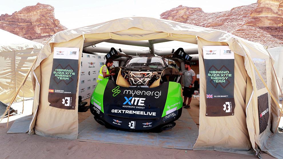Extreme E Desert X Prix