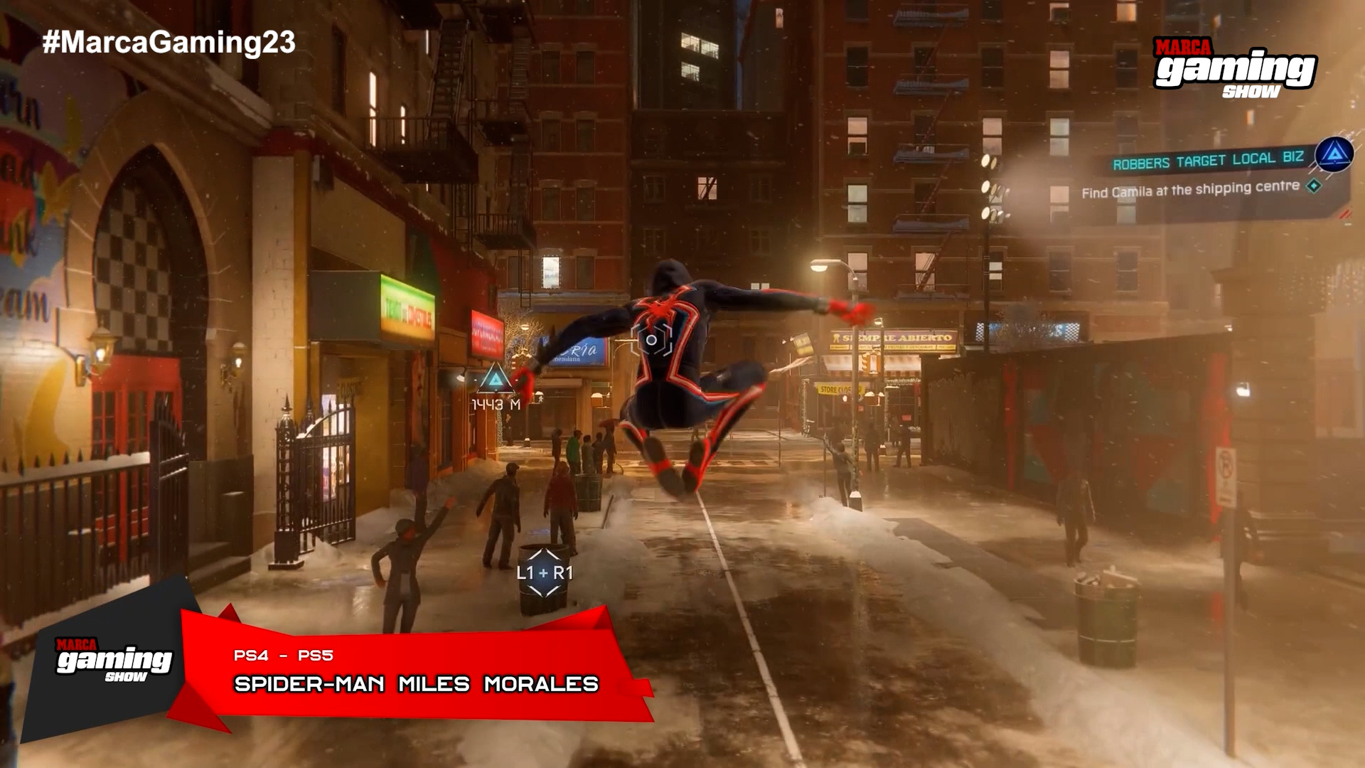 Spiderman Miles Morales (PS4 - PS5)