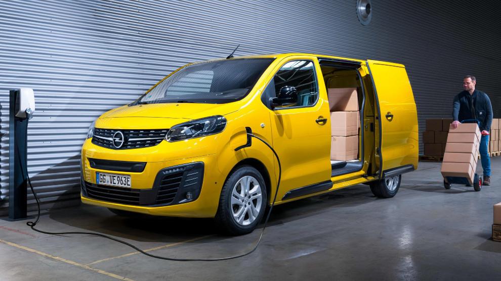 La furgoneta Opel Vivaro-e 100% eléctrica.