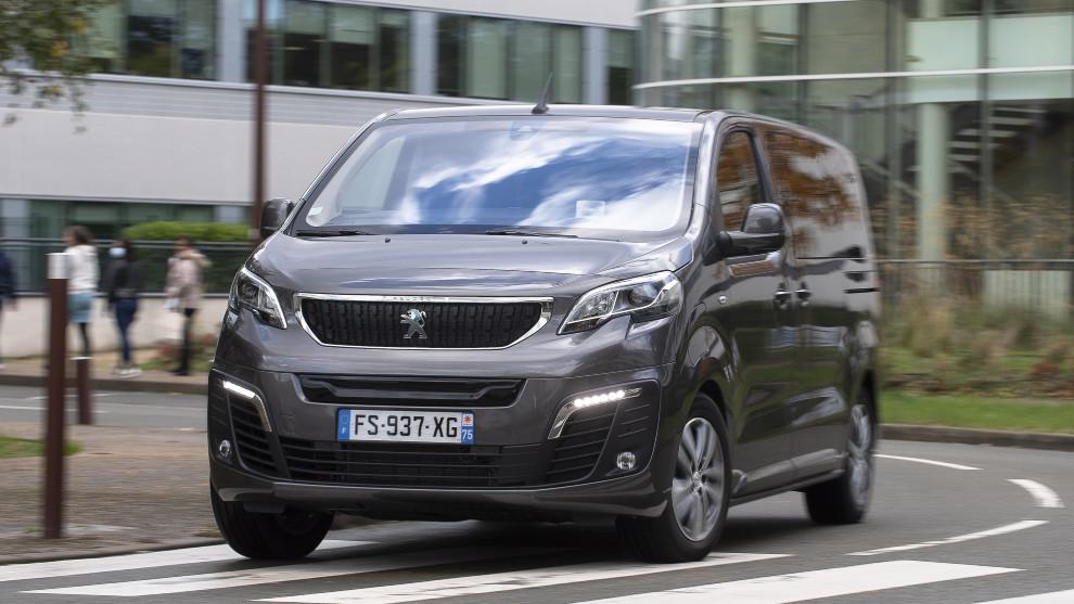 La furgoneta Peugeot e-Expert 100% eléctrica.