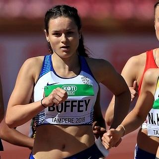 Isabelle Boffey, atleta británica