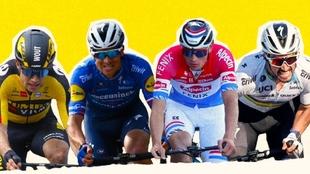 Recorrido, perfil de carrera, equipos y favoritos del Tour de Flandes...