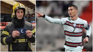 Gafete de Cristiano Ronaldo es subastado.