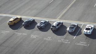 Kia EV6 drag race