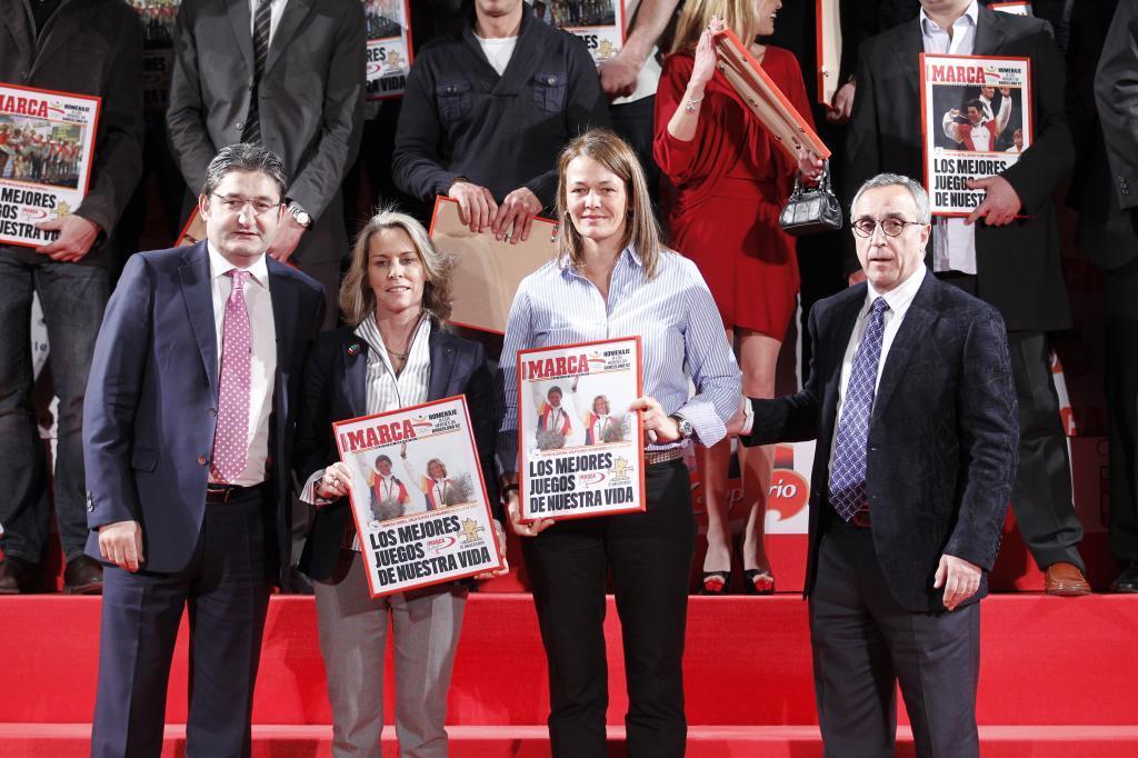 Oscar Campillo, Theresa Zabell, Patricia Guerra y Alejandro Blanco
