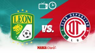 León vs Toluca: Horario y dónde ver