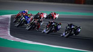 Viñales y Quartararo remontaron en el GP de Doha.