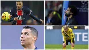 La amenaza de 'descenso' que cierne sobre Cristiano, Mbappé, Haaland, el Liverpool...