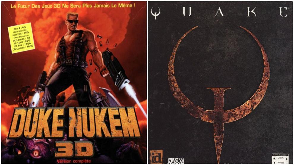 Duke Nukem 3D y Quake