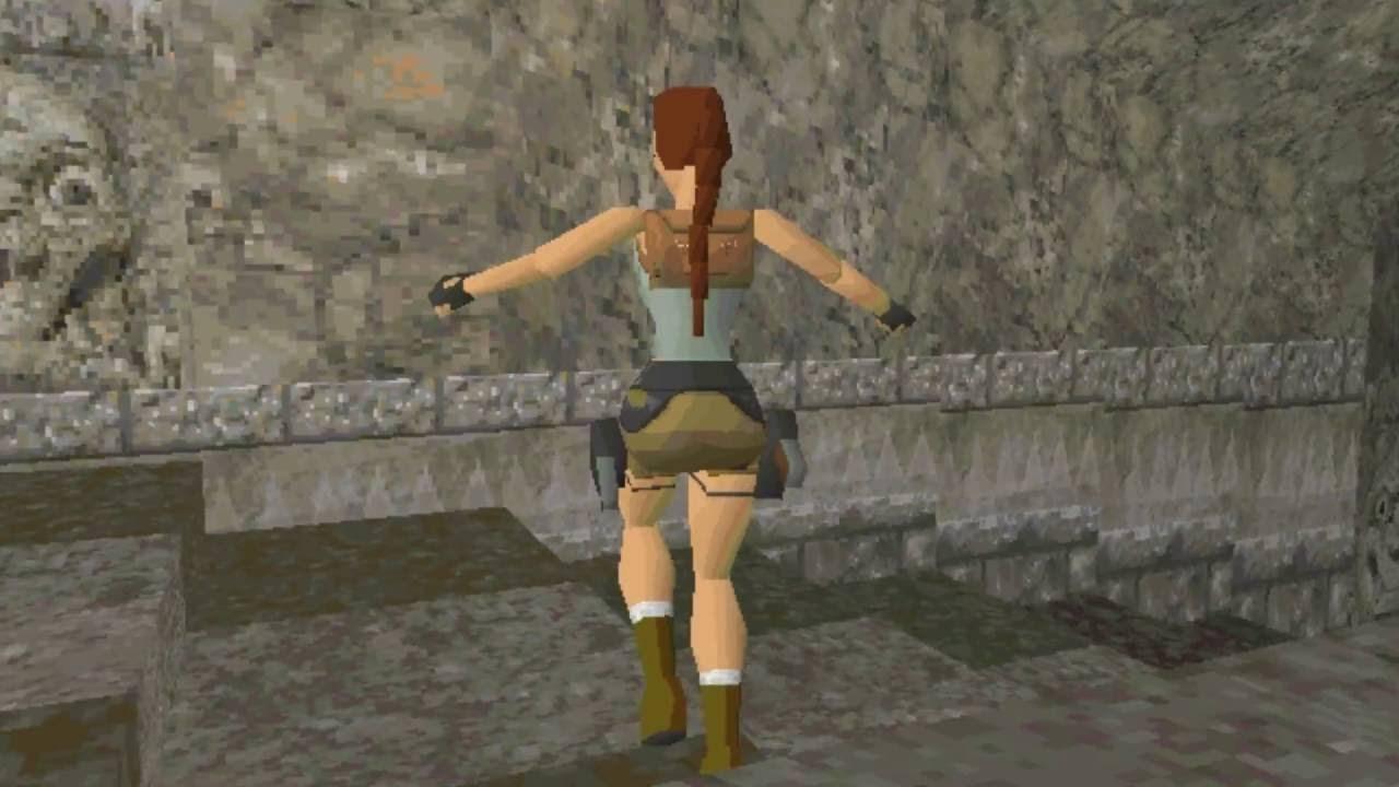 Lara Croft en Tomb Raider (1996)