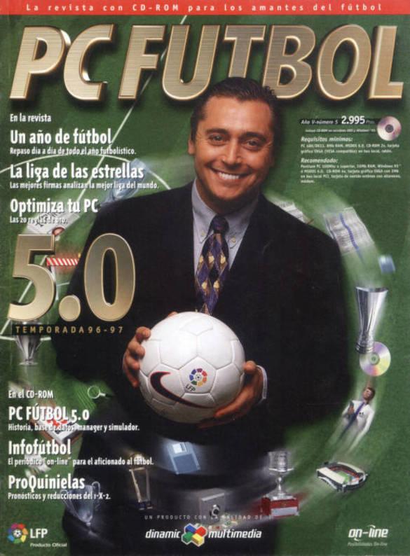 Portada de PC Fútbol 5.0