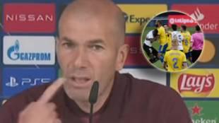 El contundente mensaje de Zidane sobre los presuntos insultos racistas a Diakhaby