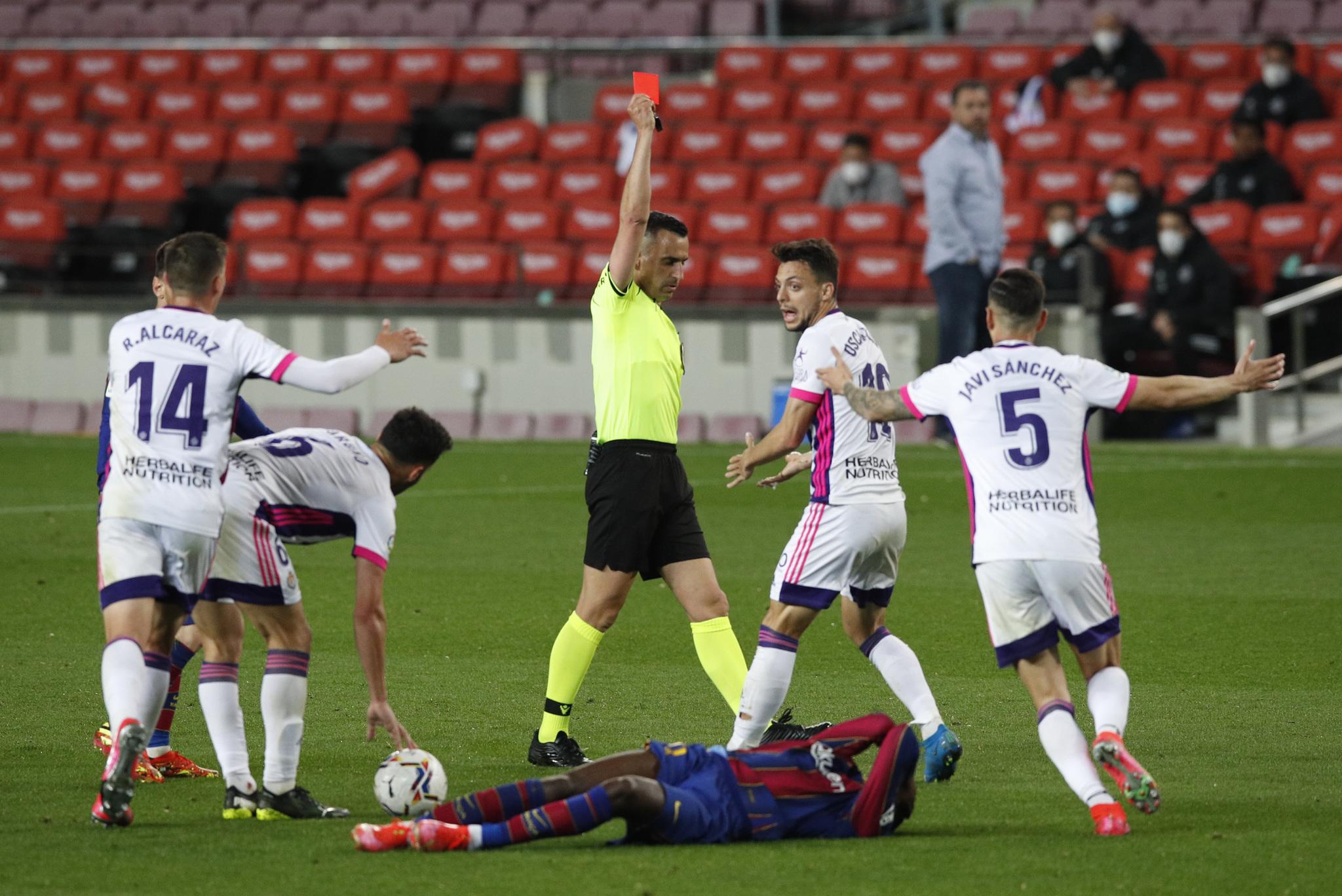 Barcelona vs Valladolid: Dembélé salva al Barça sobre la hora y la cima de  LaLiga arde | Marca