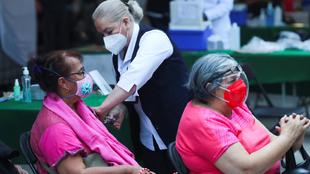 Vacunación contra la Covid-19 en Edoméx: Arranca en Teotihuacán.  