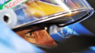 Alonso, concentrado.