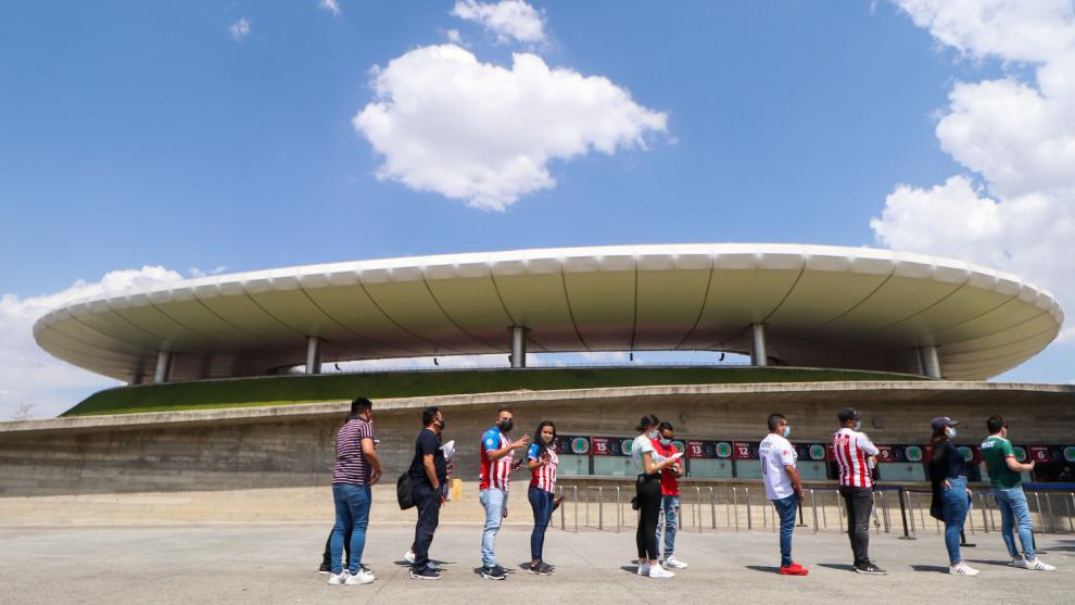 Chivas podrá vender el 60% del aforo del estadio Akron; revela ESPN