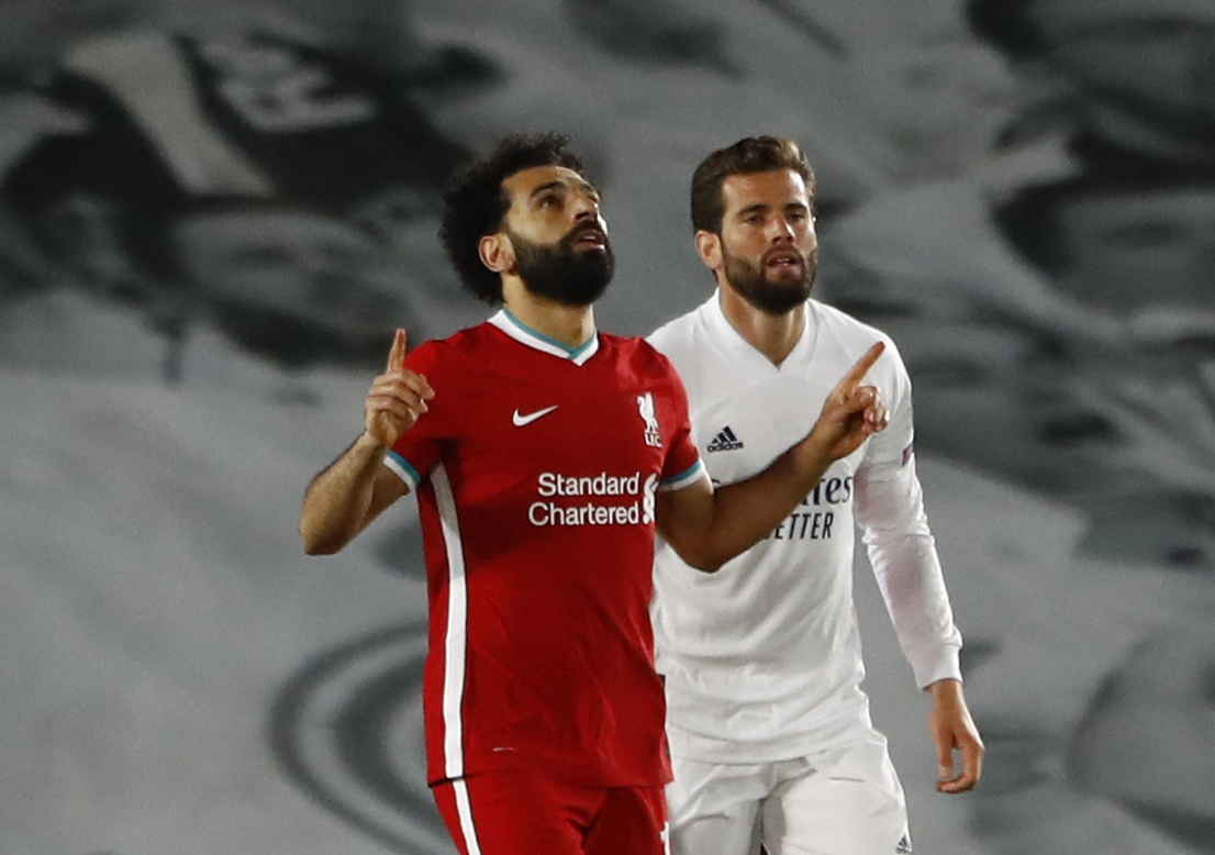 el liverpool descuenta con Salah