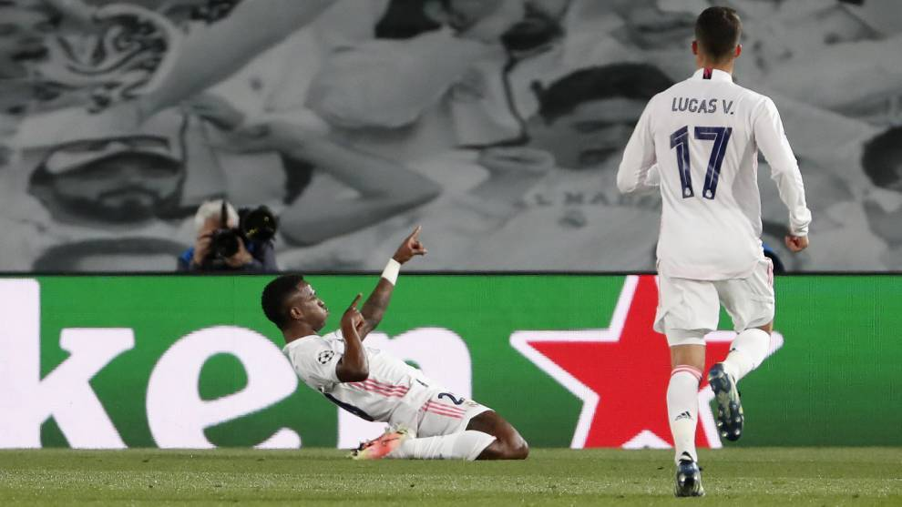 Real Madrid vs Liverpool: Vinicius brace pushes Real ...