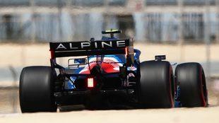 Alonso, durante el pasado GP de Bahréin.