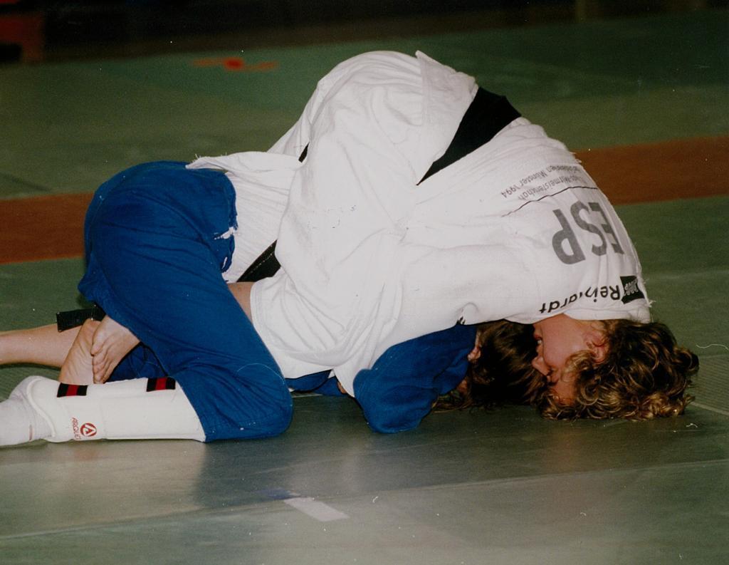 Yolanda Soler, en acción