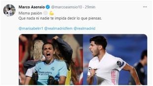 Asensio, Marcelo, Vini, el Barça... Ola de apoyo a Misa que tuvo que borrar un tuit tras el Real Madrid-Liverpool