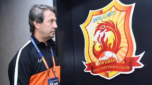 José González, en su etapa el año pasado en el Wuhan FC