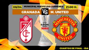Granada Manchester United Europa League: Horario Canal TV Donde Ver...