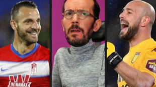 Roberto Soldado y Pepe Reina contestan con dureza a Pablo Echenique en...