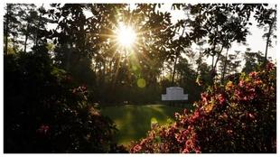 Un amanecer en el Augusta National