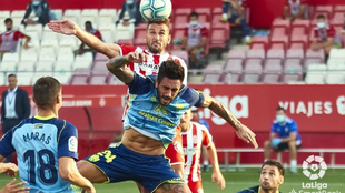 Girona y Almería se enfrentaron en agosto  la temporada pasada en la...