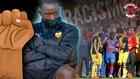 Montaje MARCA para el reportaje sobre el racismo en el fútbol...