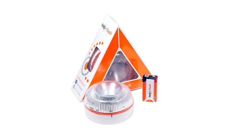 Así es la luz V16 homologada que sustituirá a los triángulos de emergencia