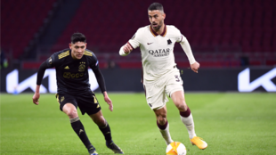Ajax perdió frente a la Roma