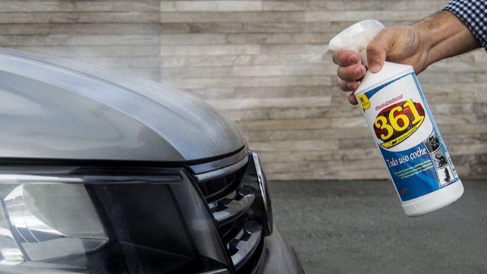 Los mejores productos para limpiar tu coche y que esté siempre como nuevo