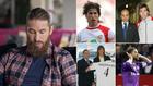 Sergio Ramos en distintos momentos de su relación con el Sevilla