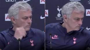 "Mourinho se entera de una inesperada noticia en plena rueda de prensa: ""Me vais a perdonar..."""