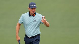 Justin Rose, Day 2 of the Masters