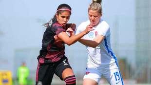 México Femenil empata 0-0 ante Eslovaquia.