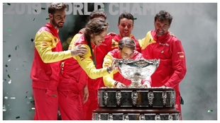 El quinteto español que ganó la última Copa Davis