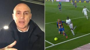 """Maldini: """"Si el penalti se pita tampoco sería un escándalo"""""""