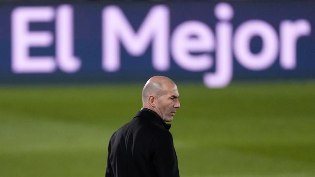 Zinedine Zidane, en el estadio Alfredo di Stéfano.