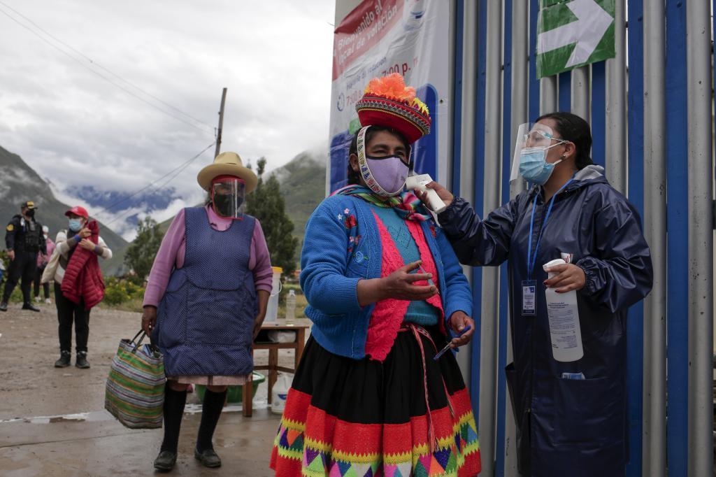 Elecciones en Perú, entre medidas de seguridad por la pandemia del coronavirus