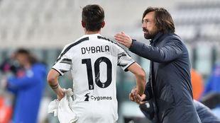 Dybala and Pirlo