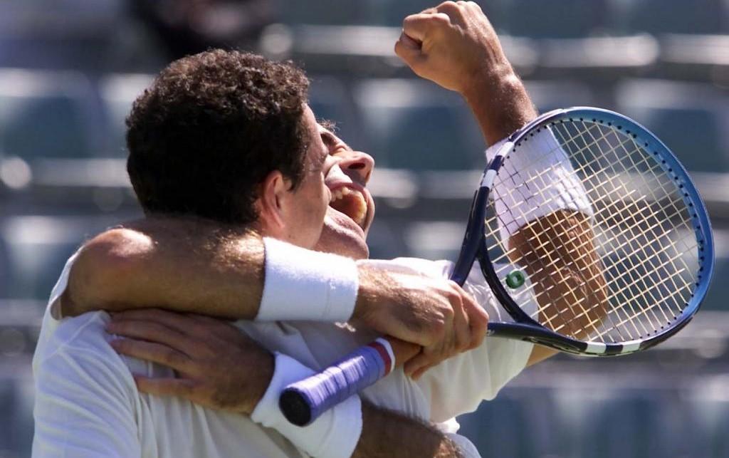 Corretja and Costa celebrate their triumph