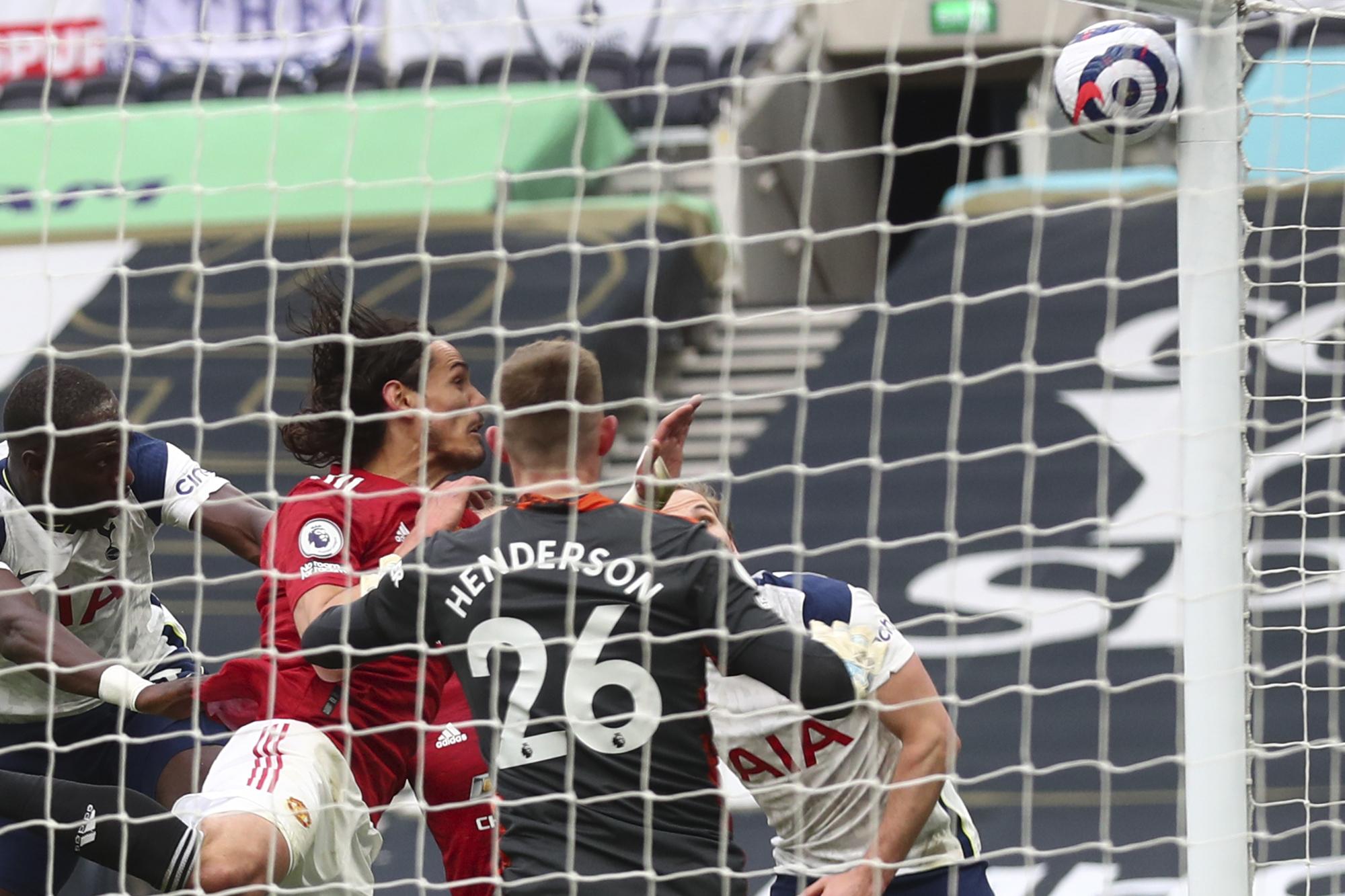 Henderson against Tottenham