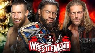 WWE WrestleMania 37, en vivo: Roman Reigns vs Edge vs Daniel Bryan